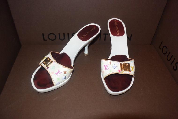 Louis Vuitton Pumps Multicolor weiß 36-3905