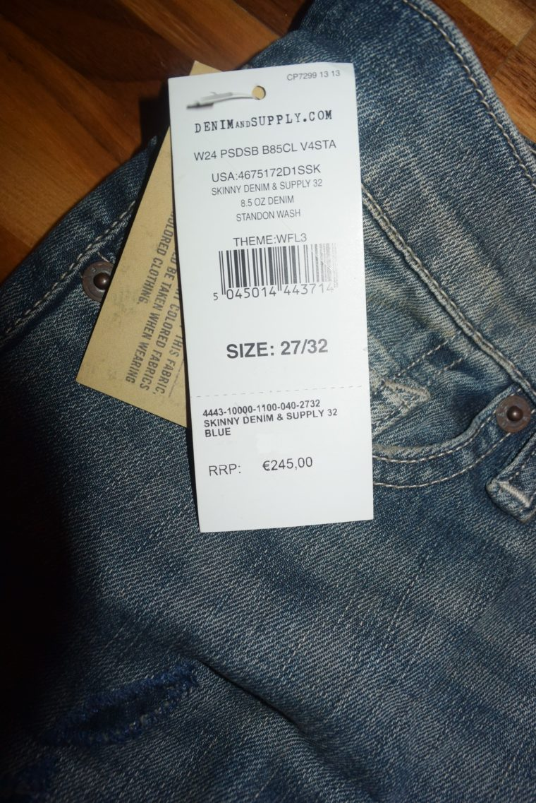 NEU Ralph Lauren Jeans 27/32 -3953