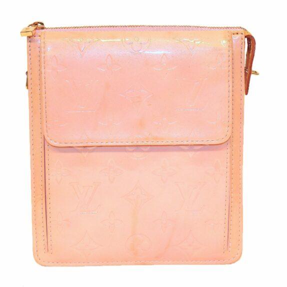 Louis Vuitton Tasche Mott Vernis Leder rosa