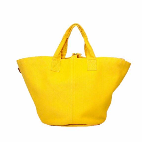 Hermes Tasche Panier de Plage PM gelb