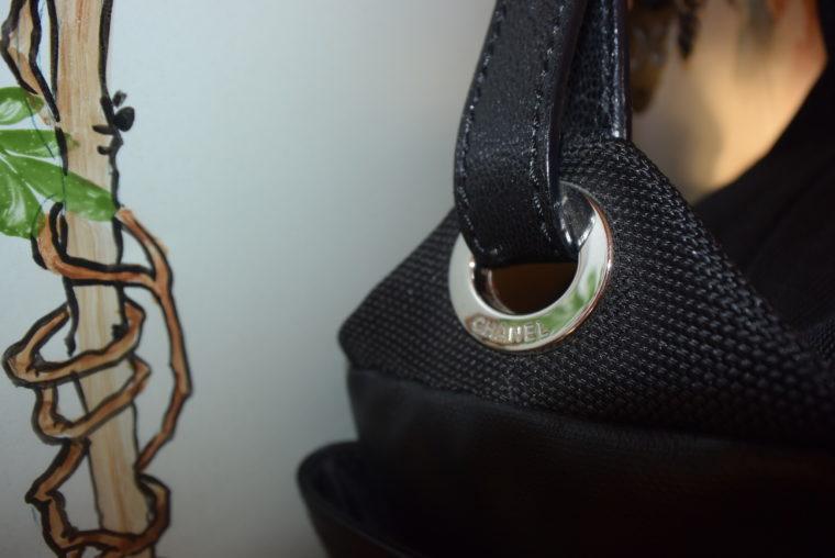 Chanel Tasche schwarz-4529