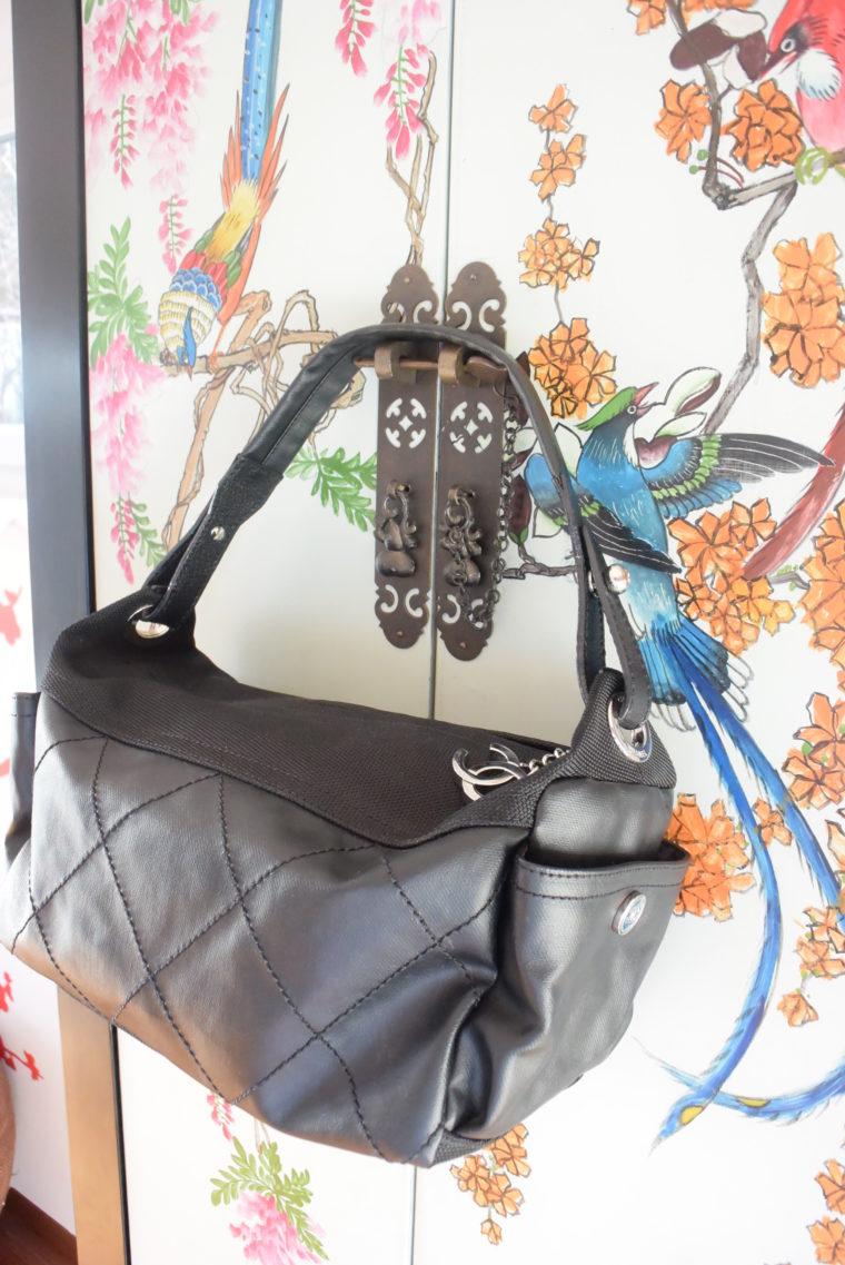 Chanel Tasche schwarz-4522