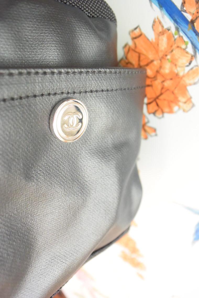 Chanel Tasche schwarz-4519