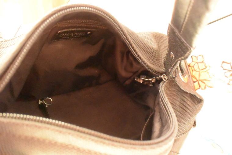 Chanel Tasche schwarz-4530