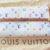 Louis Vuitton Geldbörse Multicolor weiß