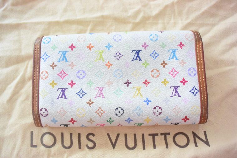 Louis Vuitton Geldbörse Multicolor weiß-4633