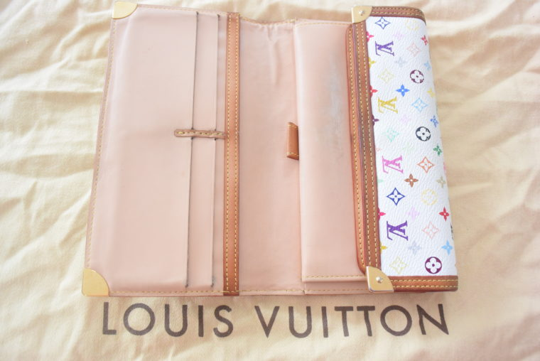 Louis Vuitton Geldbörse Multicolor weiß-4634