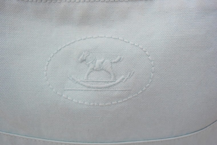 Hermès Kosmetiktasche türkis-4674