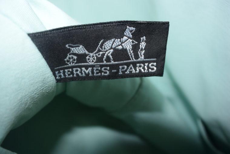 Hermès Kosmetiktasche türkis-4684