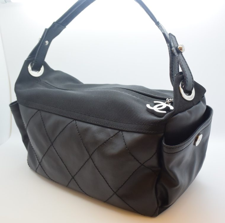 Chanel Tasche schwarz-11520