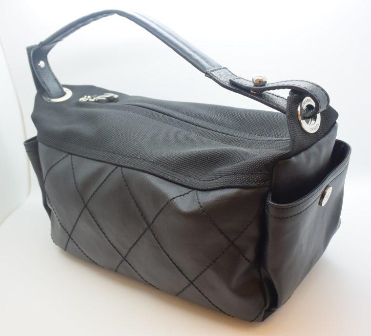 Chanel Tasche schwarz-0