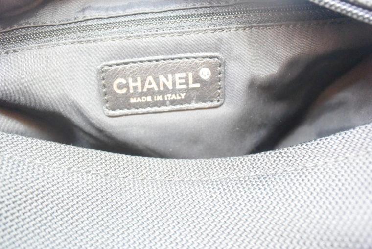 Chanel Tasche schwarz-11529