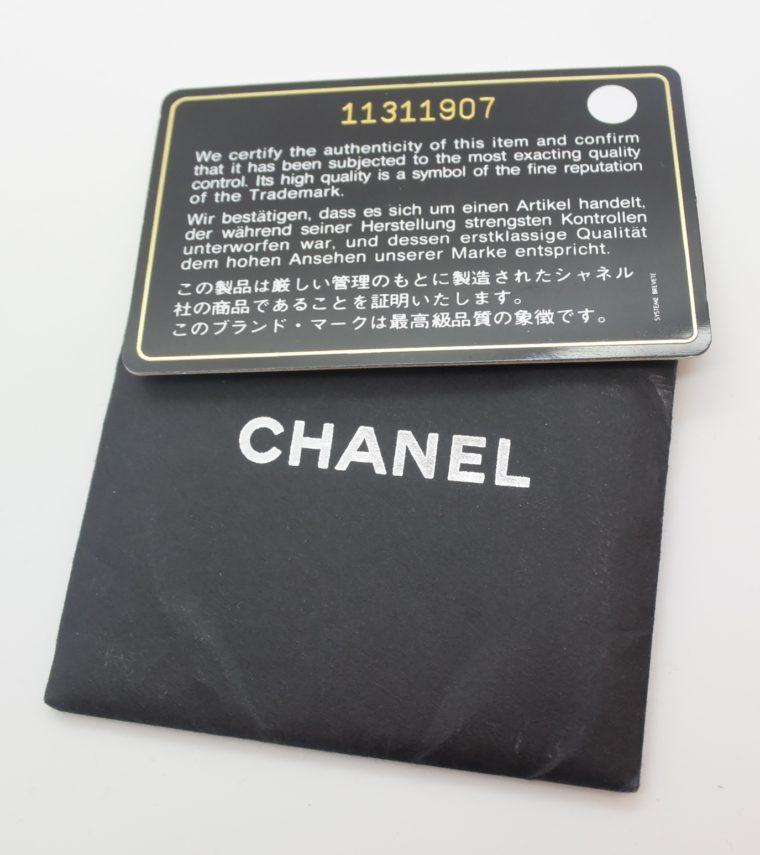 Chanel Tasche schwarz-11535