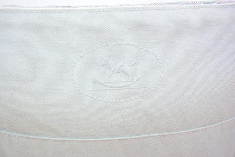 Hermès Kosmetiktasche türkis-11647