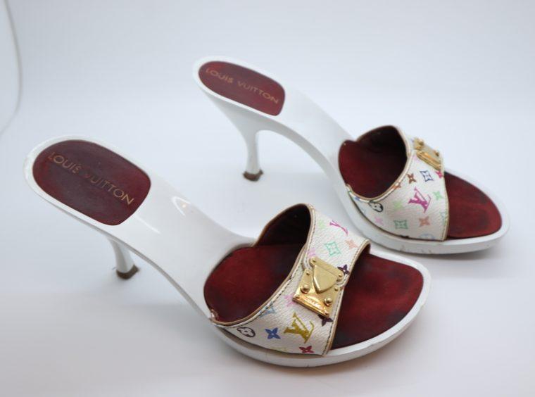 Louis Vuitton Pumps Multicolor weiß 36-0