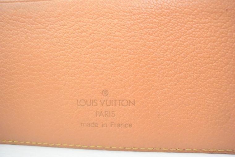 Louis Vuitton Kalender Agenda MM Rindsleder -5510