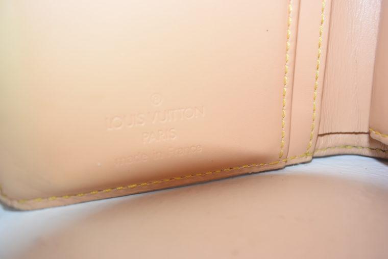 Louis Vuitton Geldbörse Portemonnaie Viennois Multicolor weiß-5627
