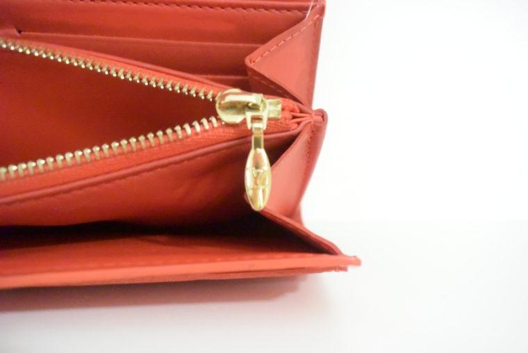 Louis Vuitton Geldbörse Sarah Vernis Leder rot-6031