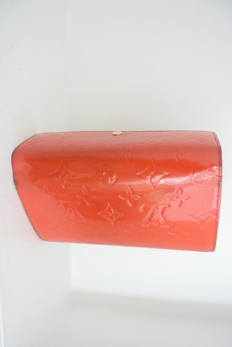 Louis Vuitton Geldbörse Sarah Vernis Leder rot-6075