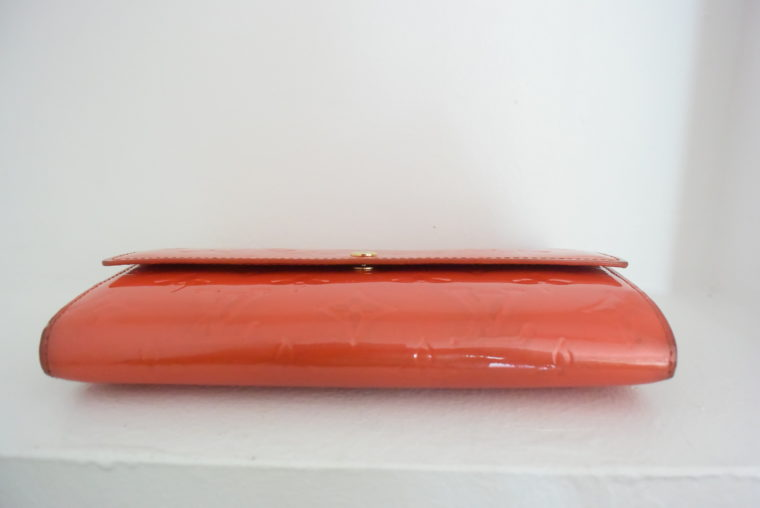 Louis Vuitton Geldbörse Sarah Vernis Leder rot-6081
