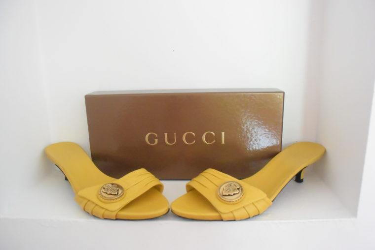 Gucci Pumps gelb 39-0