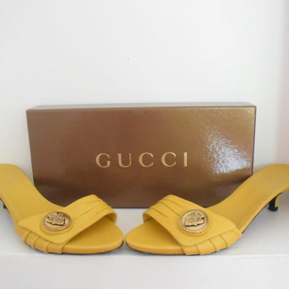Gucci Pumps gelb 39