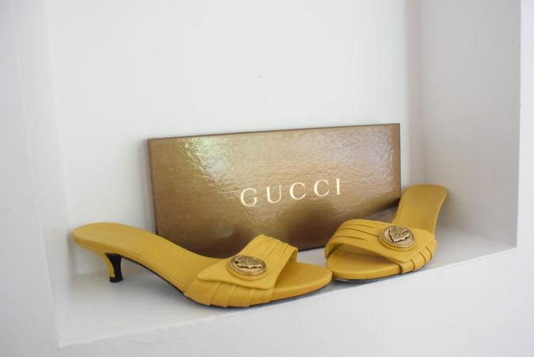 Gucci Pumps gelb 39-6296