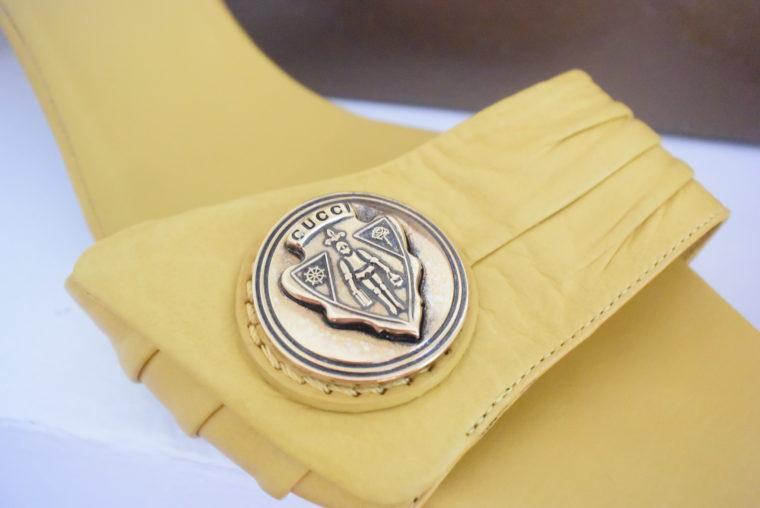 Gucci Pumps gelb 39-6297