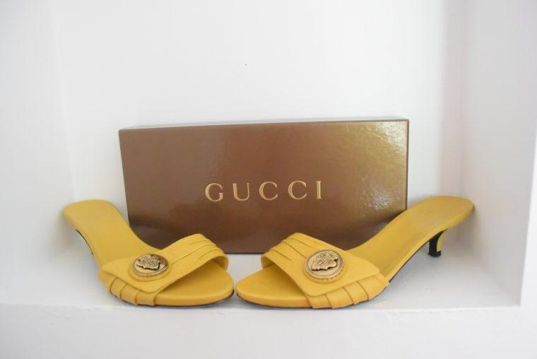 Gucci Pumps gelb 39-6301