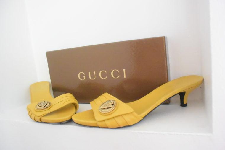 Gucci Pumps gelb 39-6298