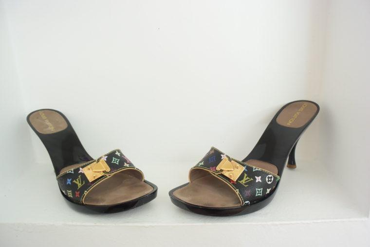 Louis Vuitton Schuhe Pumps Multicolor schwarz 37-0