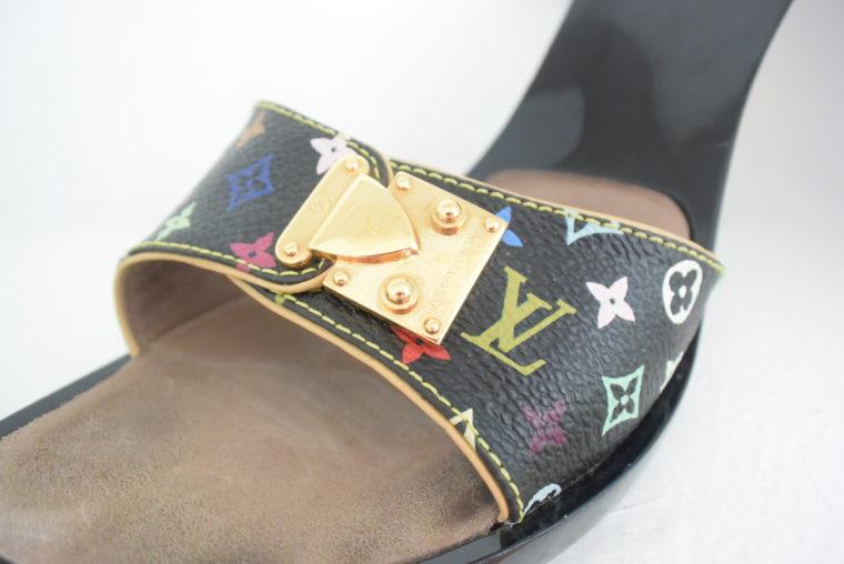 Louis Vuitton Schuhe Pumps Multicolor schwarz 37-6453