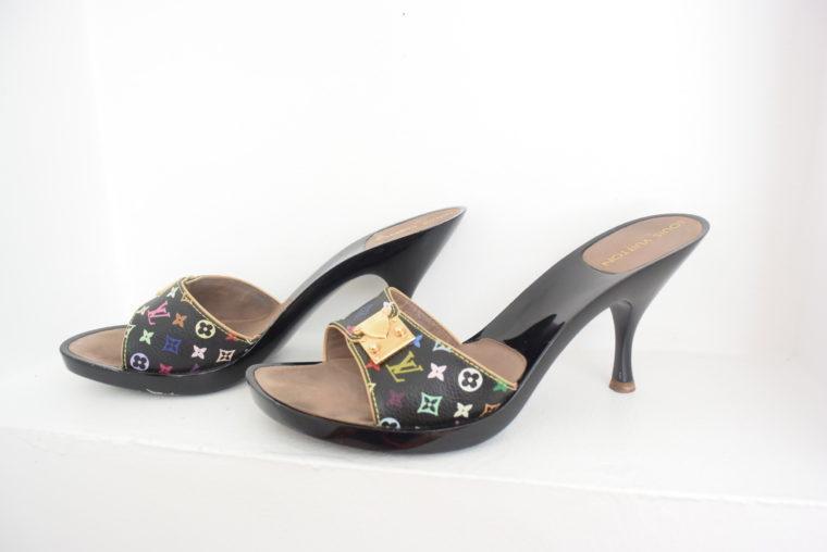 Louis Vuitton Schuhe Pumps Multicolor schwarz 37-6456