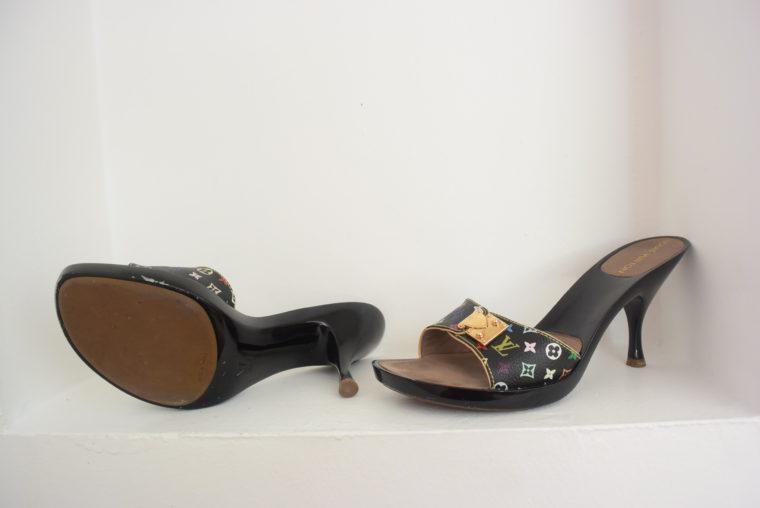 Louis Vuitton Schuhe Pumps Multicolor schwarz 37-6458