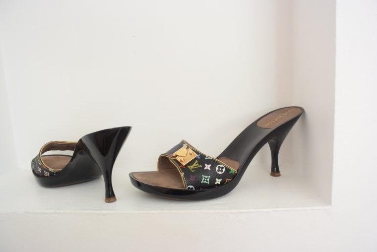 Louis Vuitton Schuhe Pumps Multicolor schwarz 37-6459