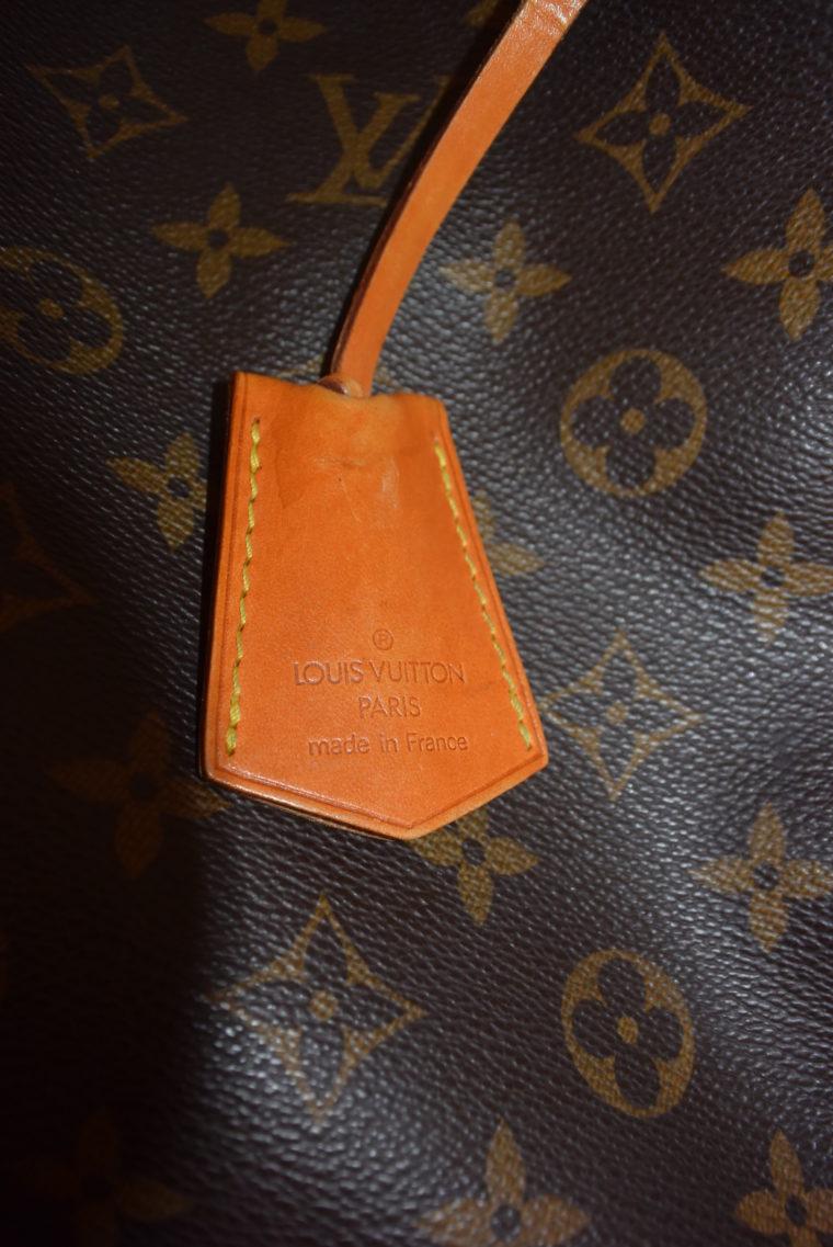 Louis Vuitton Anhänger Schlüsselglocke VVN Leder beige-6464