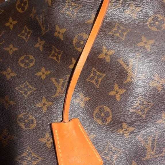 Louis Vuitton Anhänger Schlüsselglocke VVN Leder beige