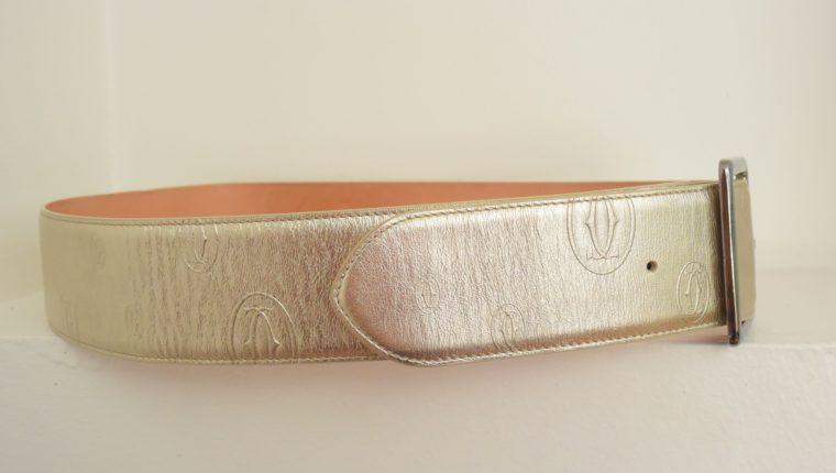 Cartier Gürtel gold 85cm-6469