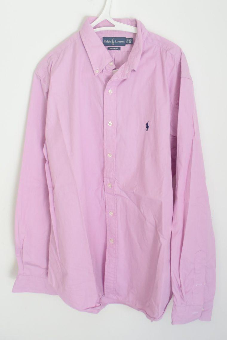 Ralph Lauren Herrenhemd zartrosa XXL-0
