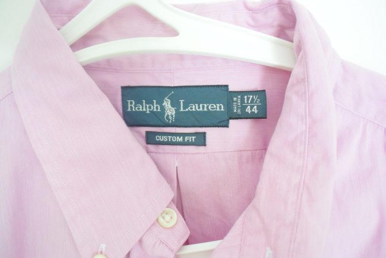 Ralph Lauren Herrenhemd zartrosa XXL-6683