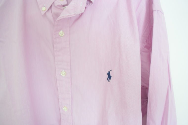 Ralph Lauren Herrenhemd zartrosa XXL-6680
