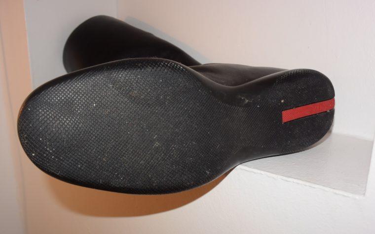 Prada Stiefel schwarz Leder 37-7137