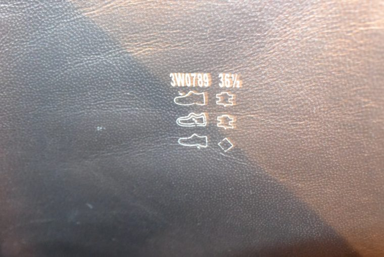 Prada Stiefel schwarz Leder 37-7138