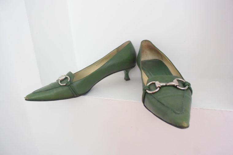 Gucci Schuhe Pumps grün 38 1/2-0