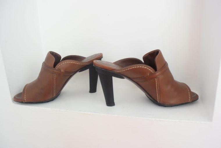 Tods Schuhe Pumps Leder braun 39 1/2-6989