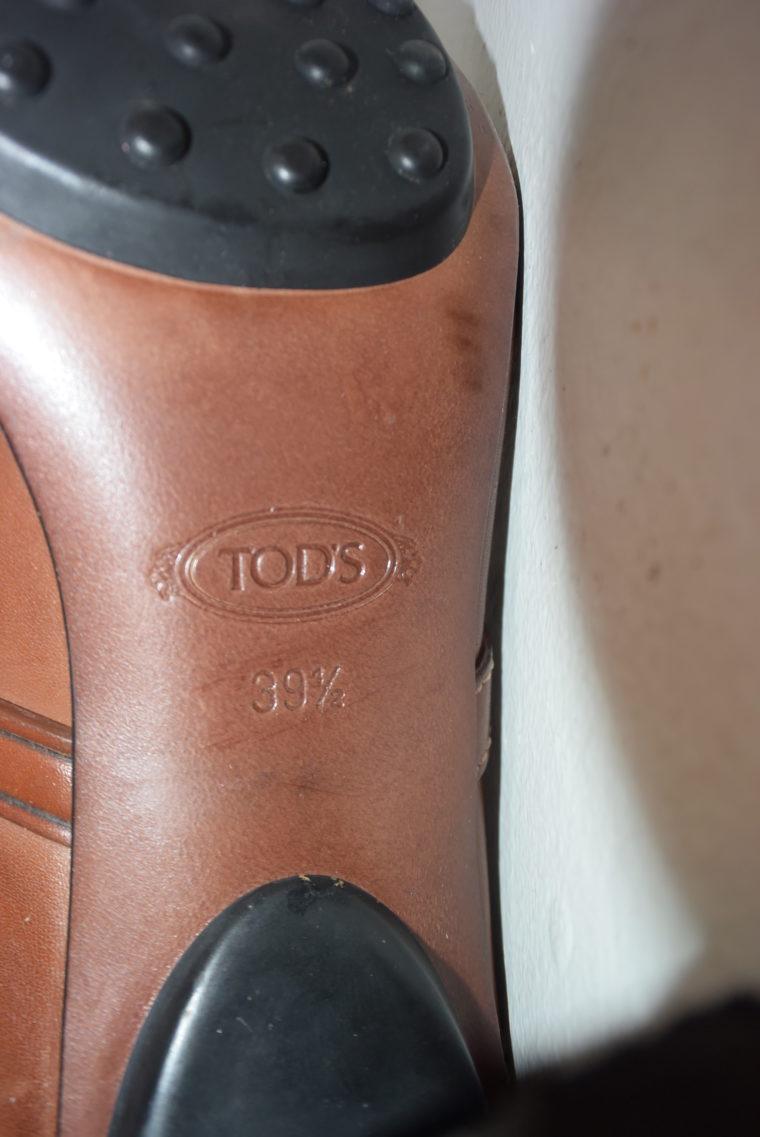 Tods Schuhe Pumps Leder braun 39 1/2-6993