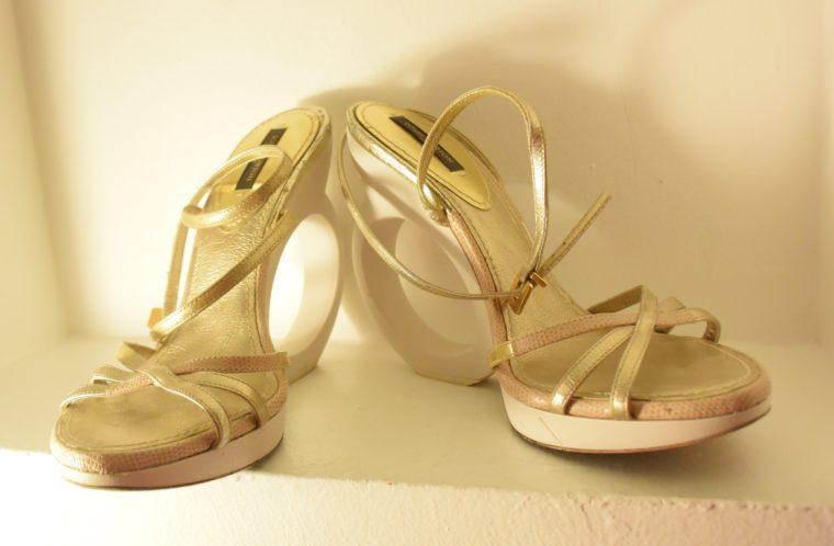 Louis Vuitton Pumps gold 38-7500