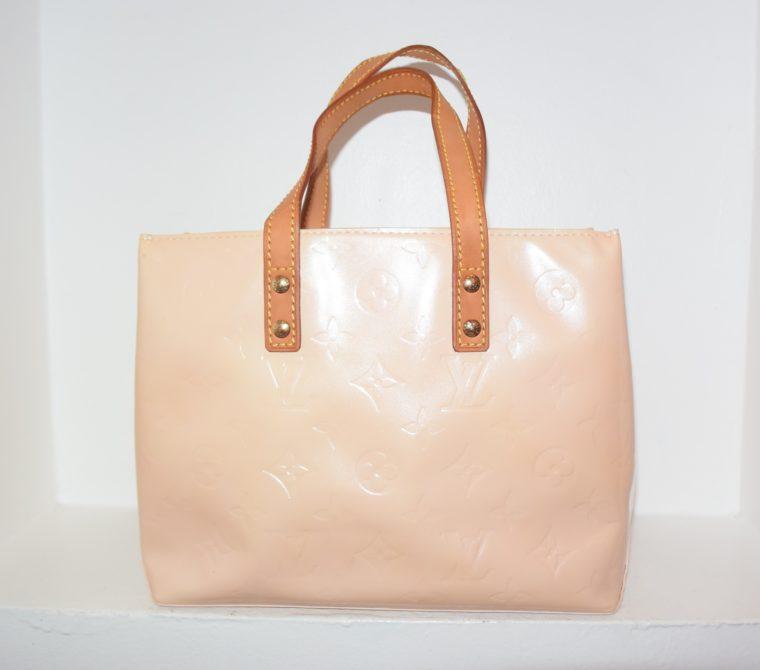 Louis Vuitton Tasche Reade PM rosa Vernis Leder-7540