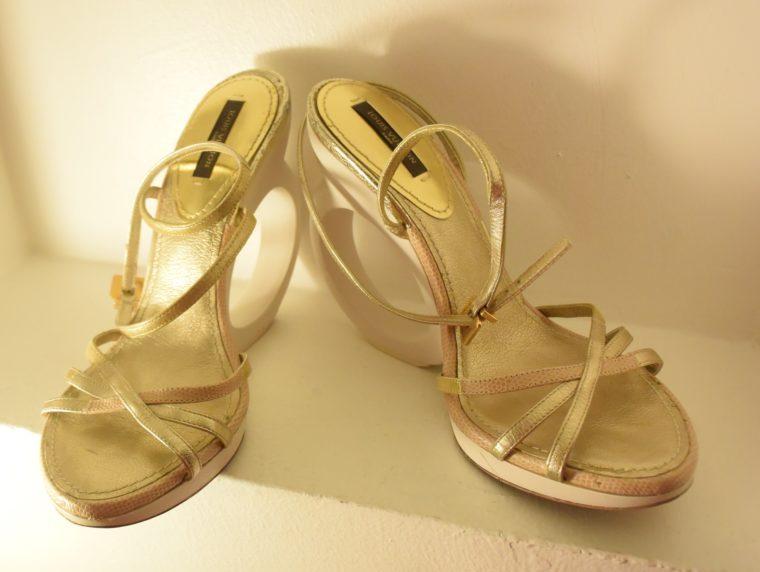 Louis Vuitton Pumps gold 38-7498
