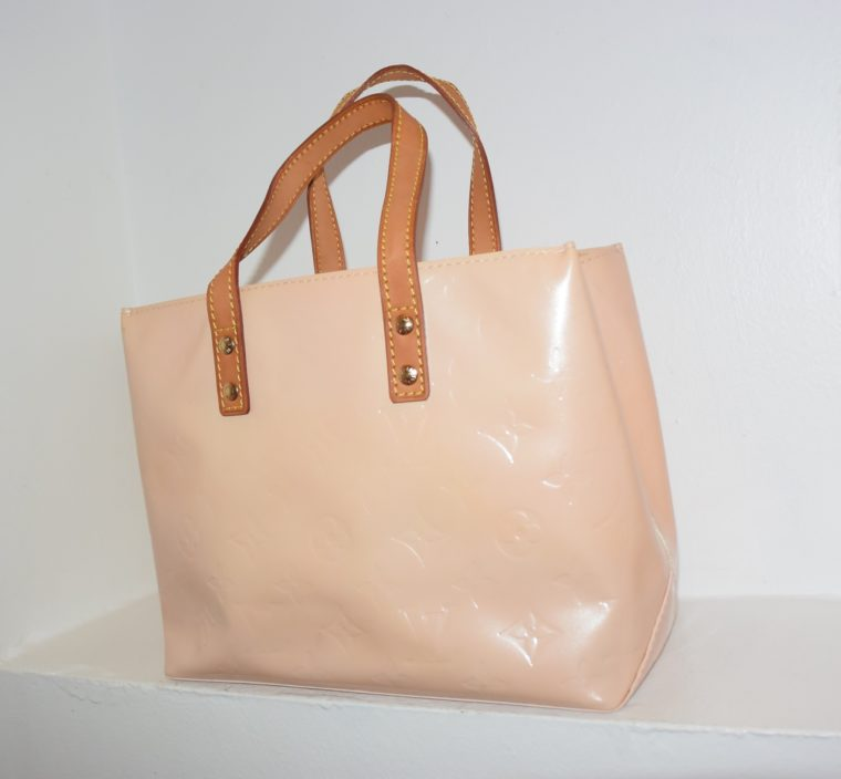 Louis Vuitton Tasche Reade PM rosa Vernis Leder-7543